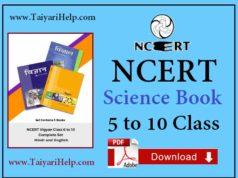 NCERT Science Book Download