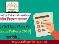 Vice Principal Exam Pattern 2018