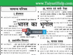 Ghatna Chakra Geography Book in Hindi