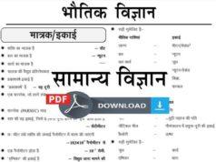 Ghatna Chakra General Science Book in Hindi PDF Download