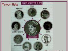 Akbar ke 9 Ratan GK Trick in Hindi