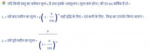 depreciation Percentage formula